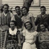 Bilde fra Østlandet (osloområdet) slutten av 1930-årene