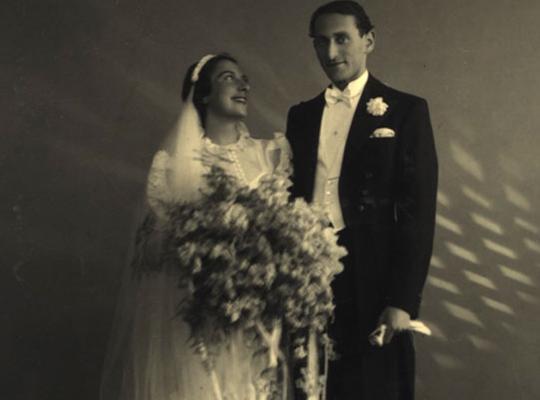 Brudebilde 1938, Håkon og Amalie Laksov