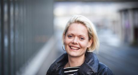 Aina Heldal Bøe fikk Laksovprisen 2013. Foto: Emil Weatherhead Breistein/Bergensavisen